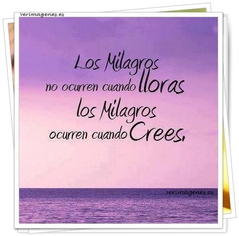 Imagen Los milagros