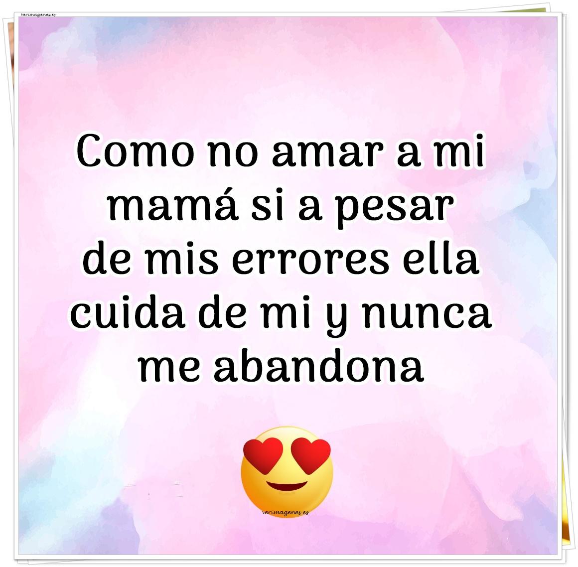 Imagen Como no amar a mi mamá