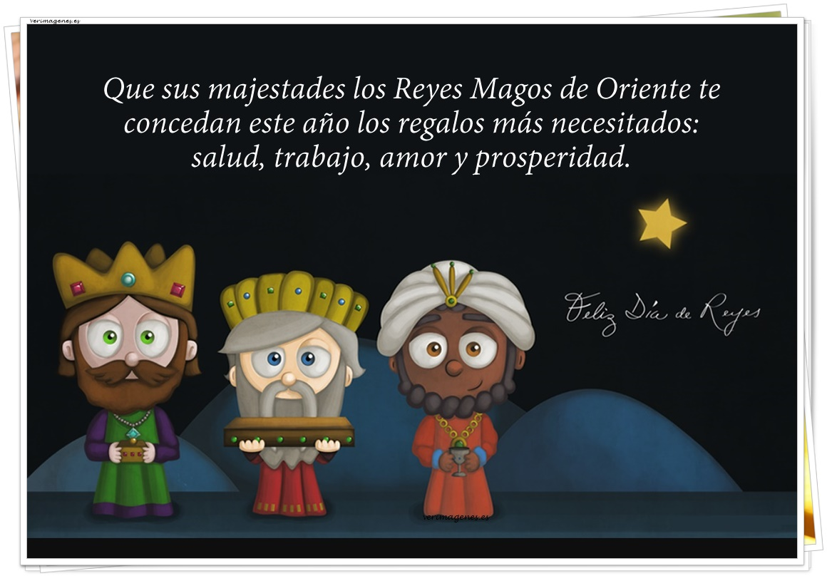 Imagen Feliz día de Reyes
