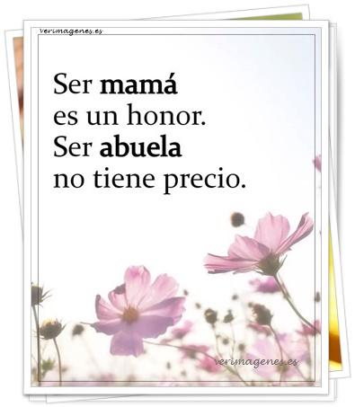 Ser mamá es un honor