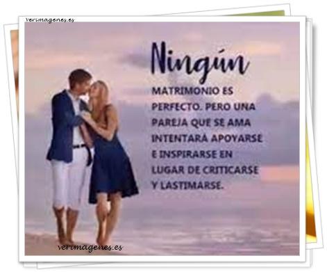 Imagen Ningún matrimonio es perfecto