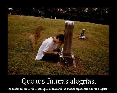 Que tus futuras alegrías
