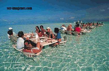 Restaurante en hawai