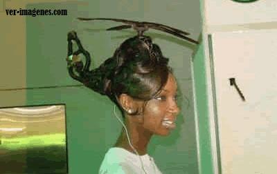 Peinado helicoptero
