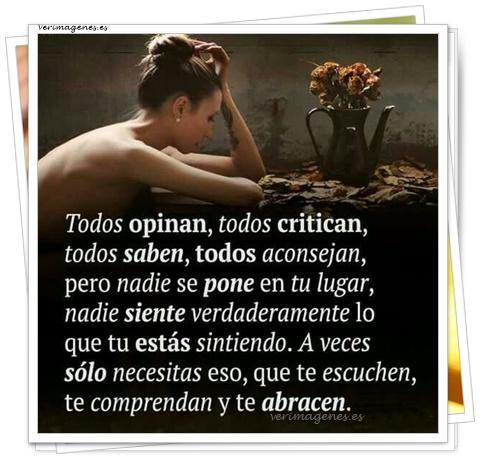 Todos opinan, todos critican