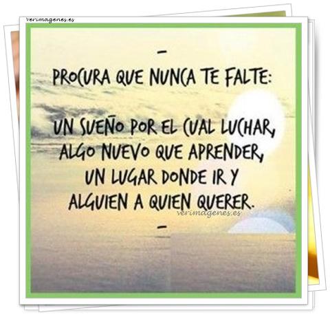 Imagen Procura que nunca te falte: