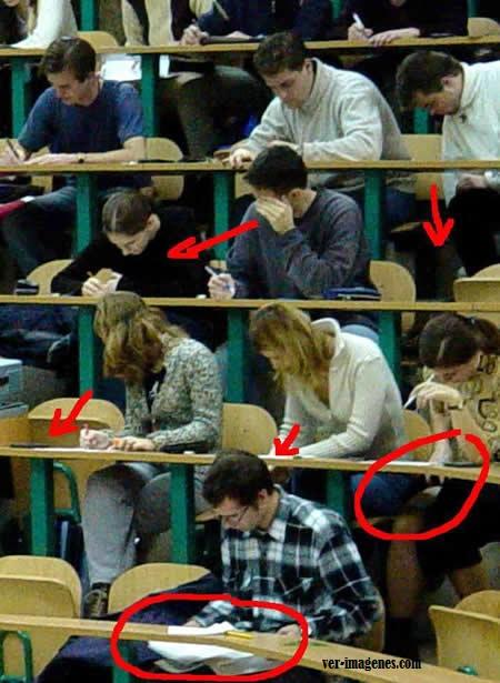 Examenes en la universidad