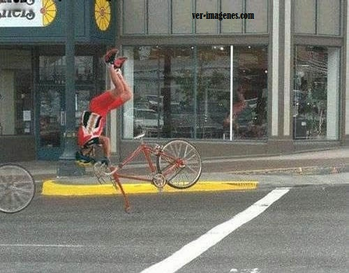 Bicicleta descompuesta
