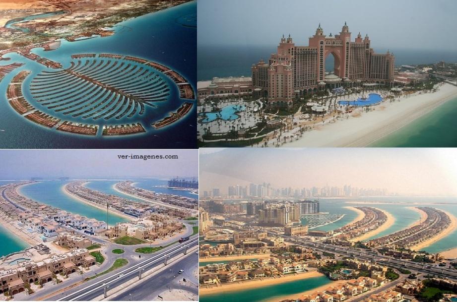 Islas palmera jumeirah, emiratos Árabes unidos