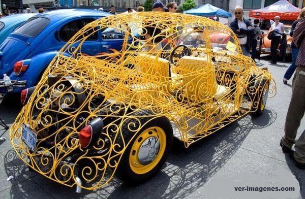 Auto sedan artistico!
