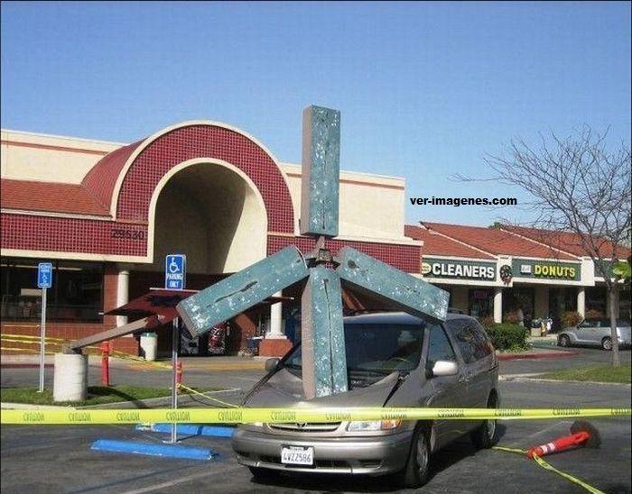 Cuidado donde aparcas el coche