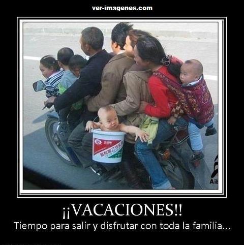 ¡¡ vacaciones !!