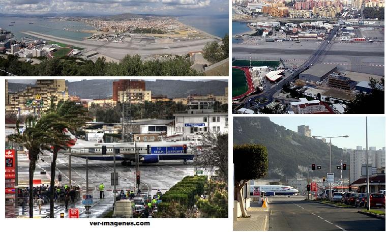 El curioso aeropuerto de gibraltar