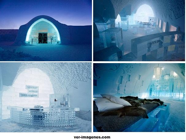 El hotel de hielo