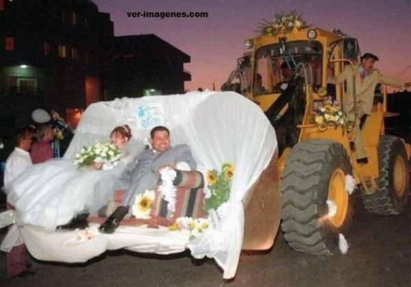 Transporte para novios