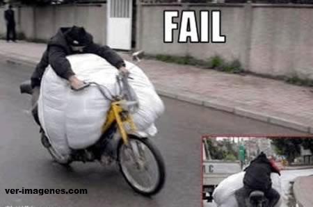 Motocicleta bien aprovechada