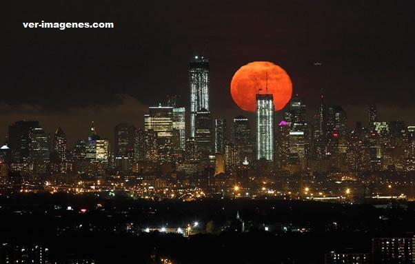 La súper luna del 2012