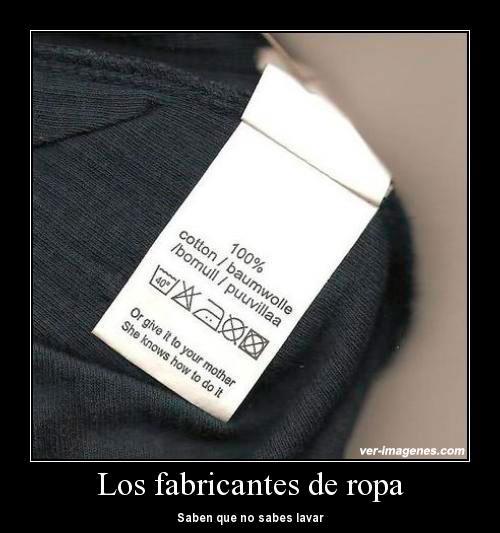 Los fabricantes de ropa