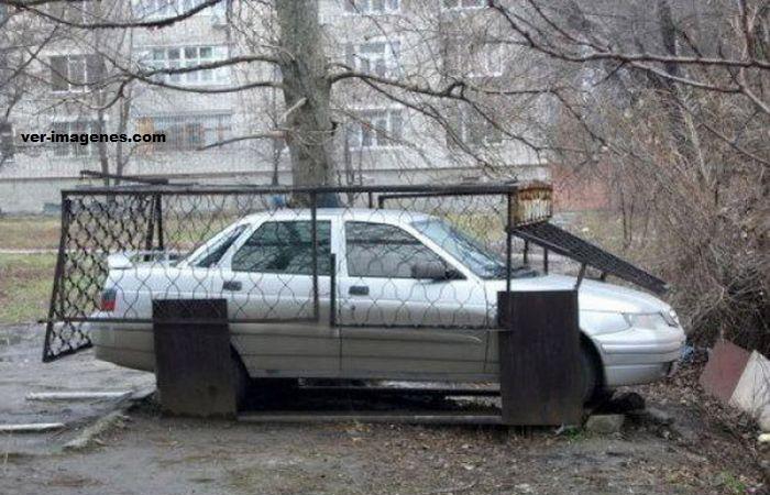 Imposible robar el coche