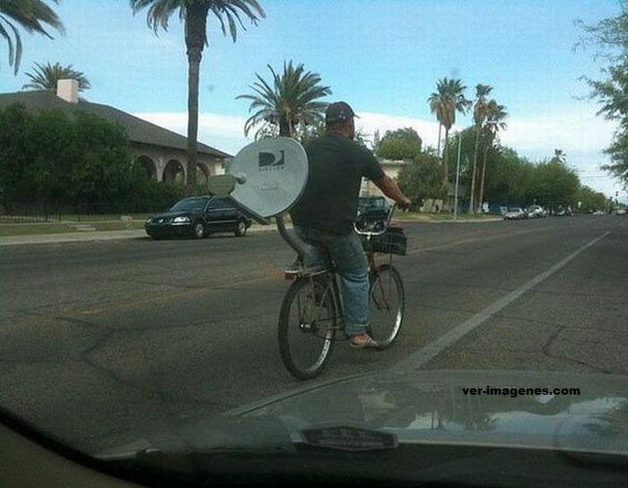 La famosa bici parabolica