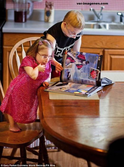 Bridgette Jordan: La mujer más pequeña del mundo