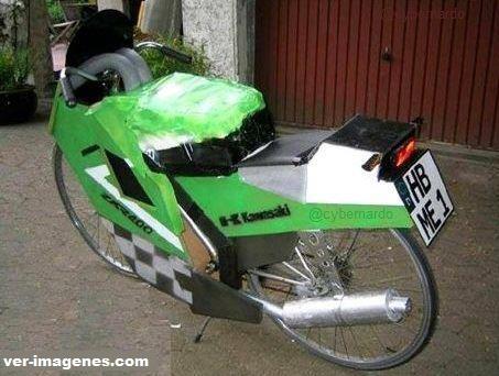 Bicicleta Kawasaki