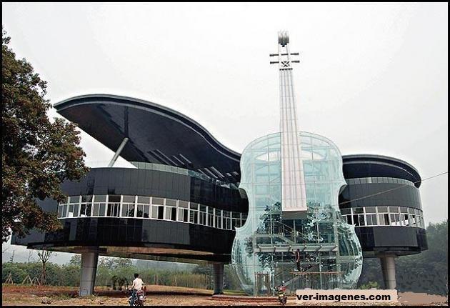 Un edificio muy musical!