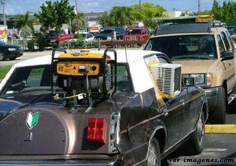 Aire acondicionado en carro