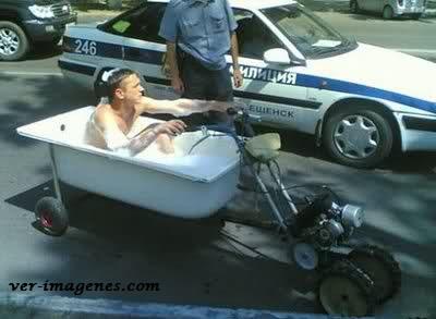 Moto-bañera