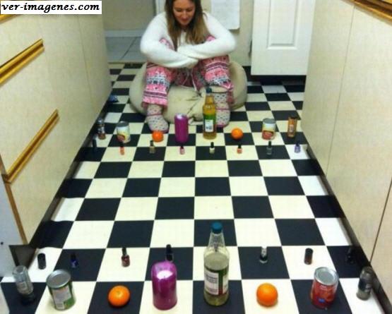 El ajedrez en casa