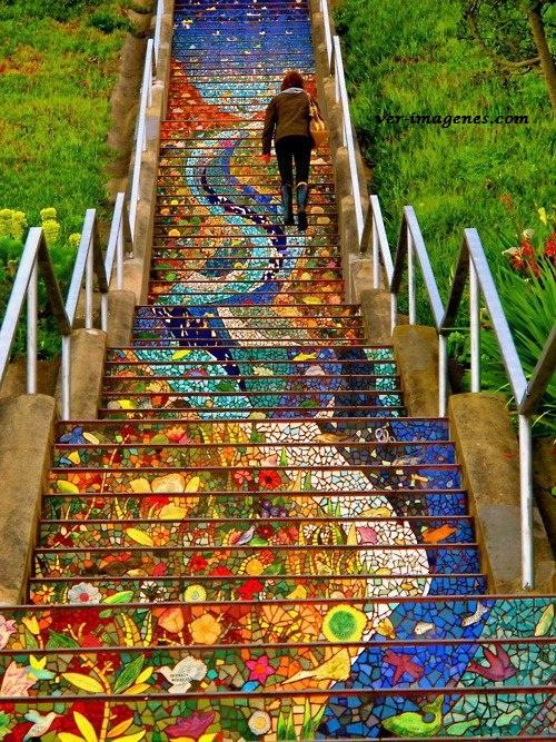 Espectacular escalera