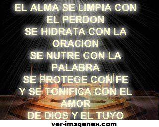 Imagen El alma se limpia ....
