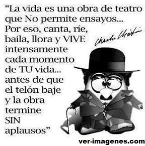 La vida es una obra de teatro......