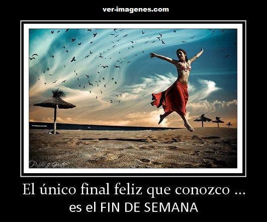 El único final feliz ......