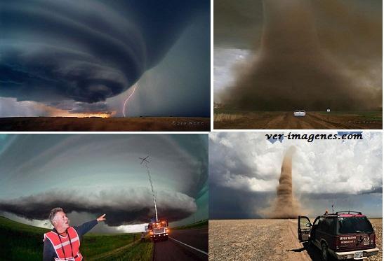 Imágenes apocalípticas por el meteorólogo jim reed