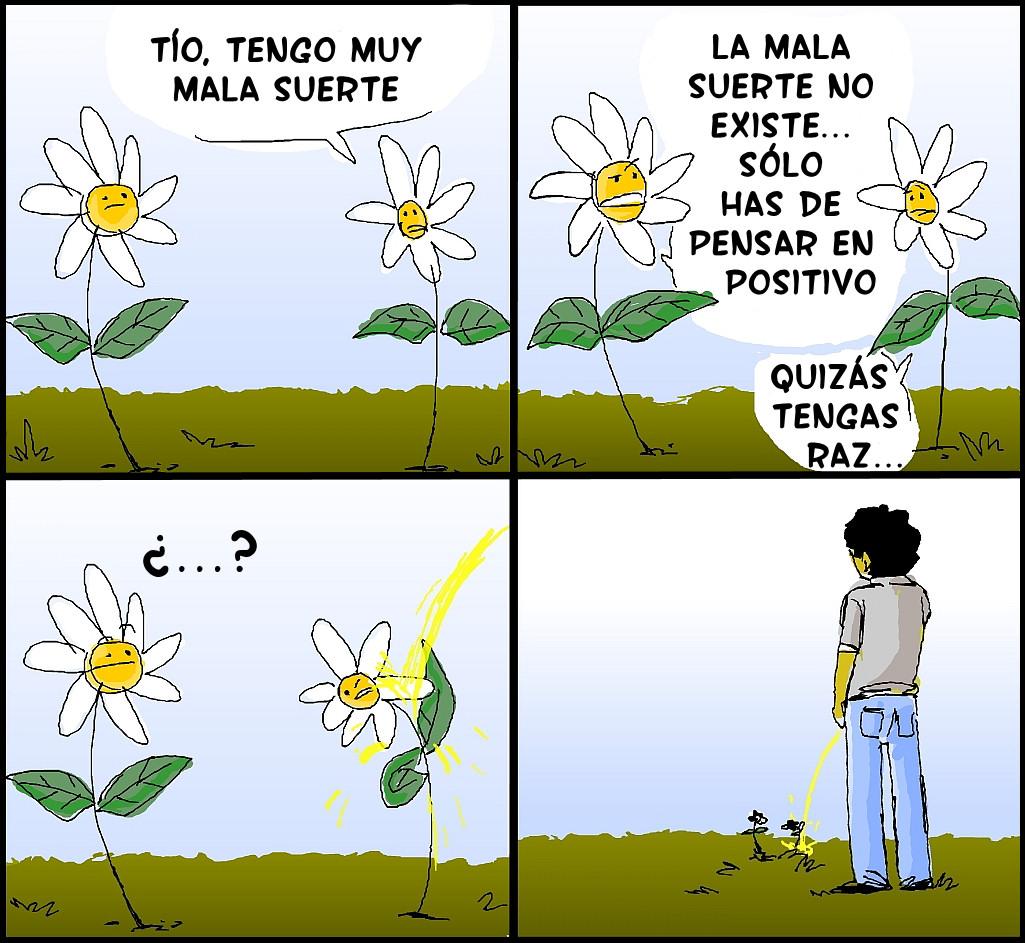 Flores con mala suerte