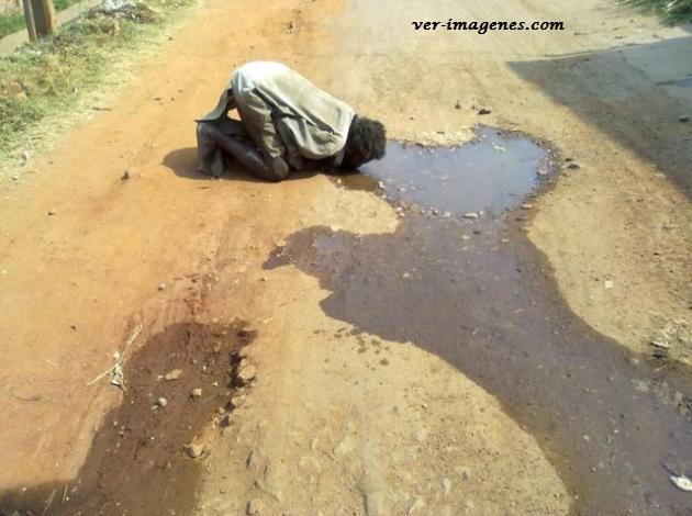 Hay que cuidar el agua, a muchos sí que les hace falta