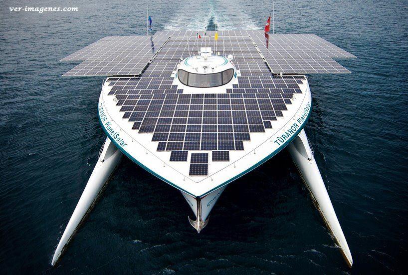 Imagen Planet Solar: Record Guinness al barco solar más rápido en cruzar el Atlántico.