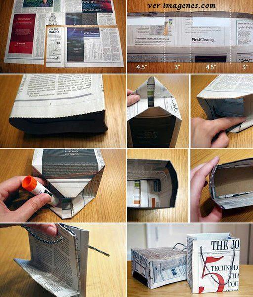 Bolsa de papel reciclado para regalo