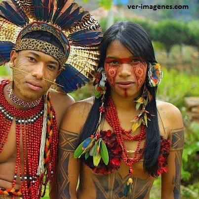 Pareja de una tribu