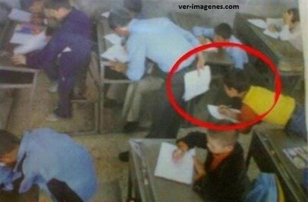 Este es el chico más listo de la clase, siempre saca 10