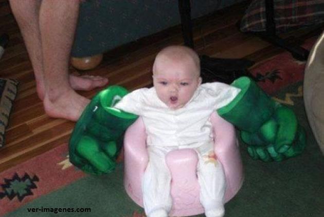Yo soy el temible hulk!