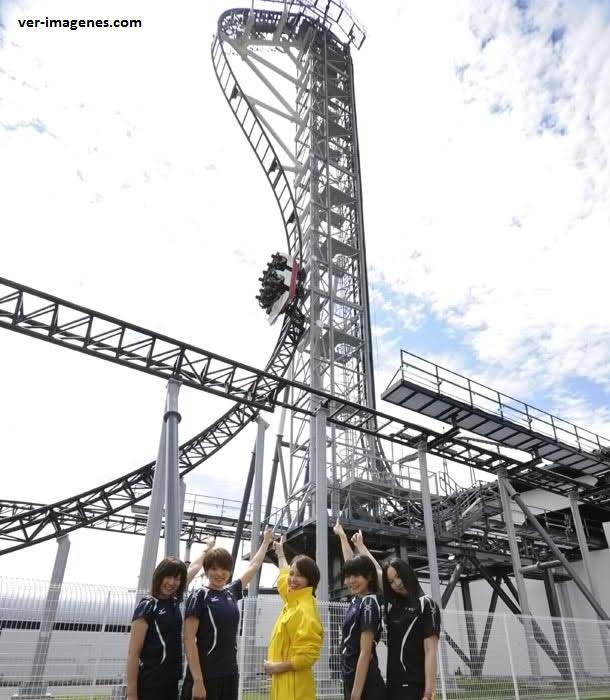 Takabisha: la montaña rusa con la mayor pendiente en el mundo!