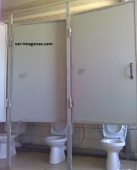 Algo no esta bien con esos baños