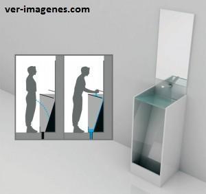 Nueva forma de construir los inodoros para caballeros