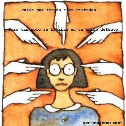 Imagen Puede que tengas cien virtudes....