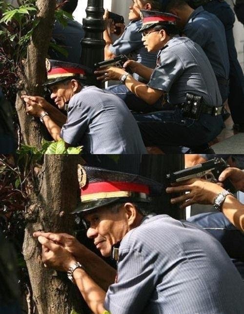 Policia despistado