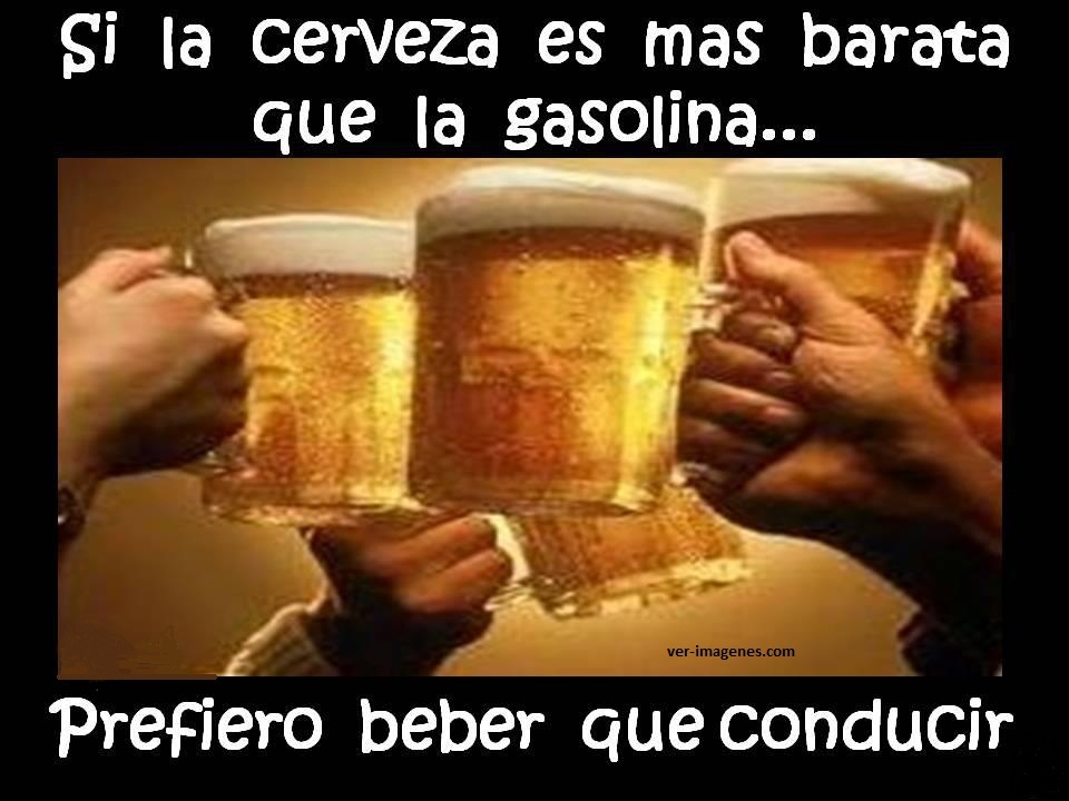 Imagen Si la cerveza .....