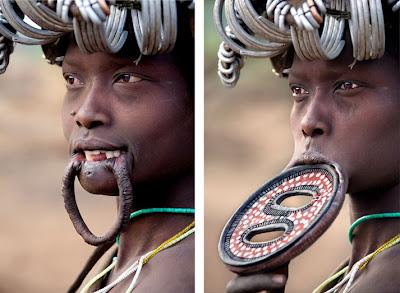 Tribus de África (niña himba)