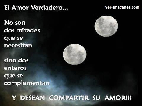 El amor verdadero .....